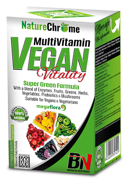 MULTIVITAMIN VEGAN 80 CAPS